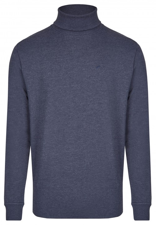 ROLLNECK, midnight blue