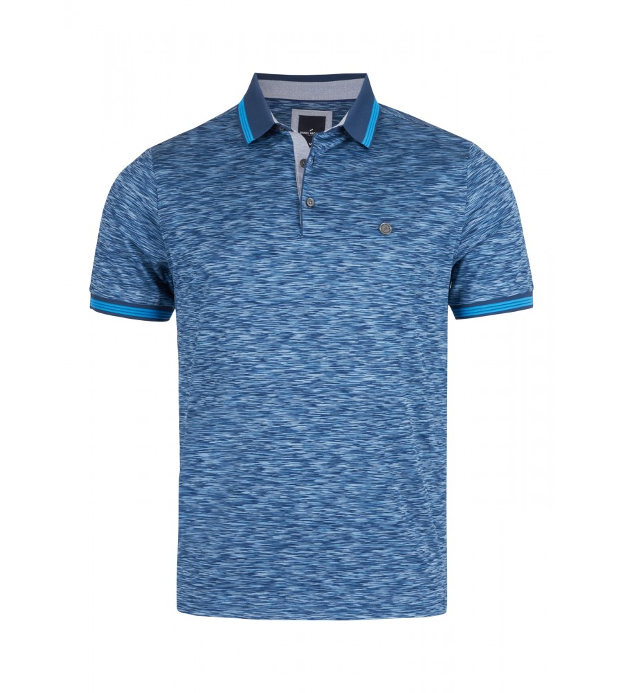 Artikel klicken und genauer betrachten! - Dieses elegante Polo-Shirt von Daniel Hechter lässt sich sowohl zur Jeans als auch unter dem Sakko tragen, und besteht aus reiner, doppelt merzerisierter Baumwolle. Es verfügt über einen feinen Glanz und eine edle Warenoberfläche. Das Shirt begeistert mit seinem modischen Grafikmuster mit Kontrastkragen. Das Material aus reiner, natürlicher Baumwolle ist hautsympathisch und sorgt für eine perfekte Passform. | im Online Shop kaufen