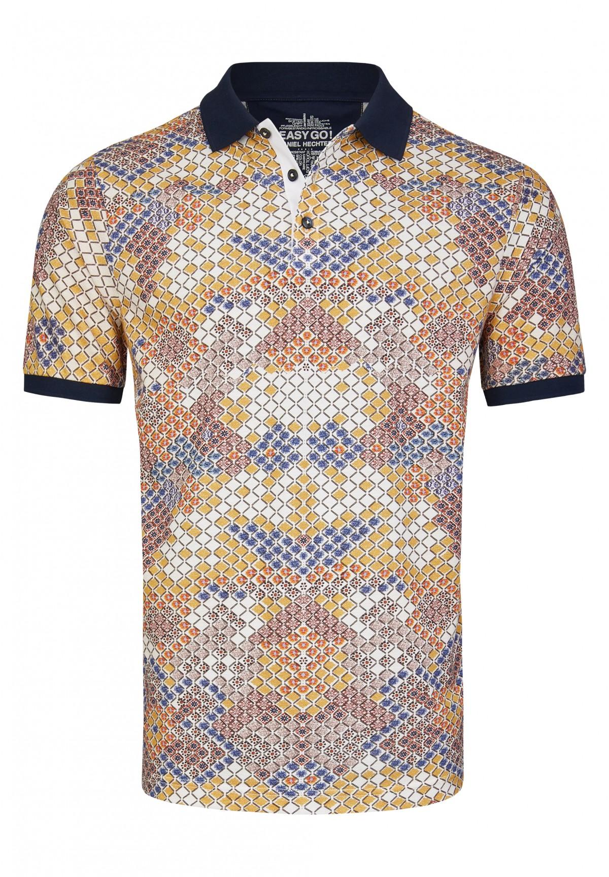 Stylisches Polo Shirt mit sommerlichem Druck / POLO