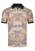 Stylisches Polo Shirt mit sommerlichem Druck