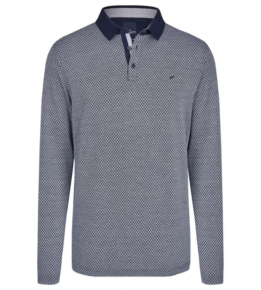 Lässiges Polo-Shirt - Dieses lässige Polo-Shirt von Daniel Hechter besticht mit seiner hochwertigen Verarbeitung und dem modernen Design. Es verfügt über ein Strukturmuster, einen klassischen Polo-Kragen mit Knopfverschluss und wird durch die gerippte Optik an Kragen, Bund und �rmel abgerundet. Eine Logo-Stickerei findet sich auf der Brust. Das Shirt besteht aus reiner, merzerisierter Baumwolle, die der Haut schmeichelt.