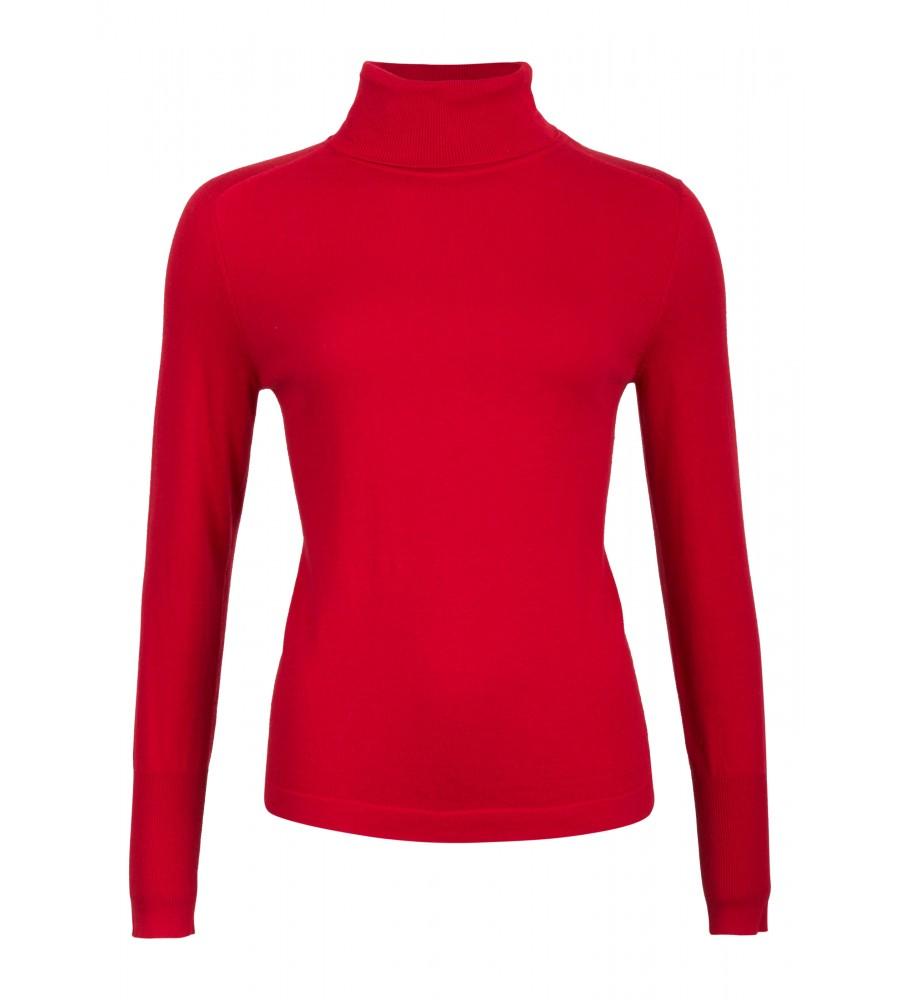 Artikel klicken und genauer betrachten! - Herbstliche Trendfarben und zarte Baumwolle mit Seidenanteil lassen diesen Pullover zum Lieblingsstück für kalte Wintertage werden. Ob Business oder Freizeit - der perfekte Begleiter zum Wohlfühlen. | im Online Shop kaufen