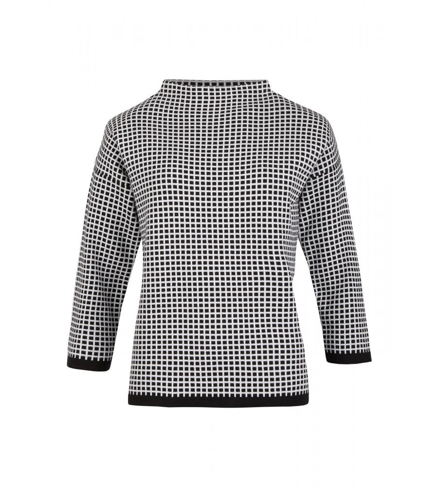 Trendig geschnittener Oversize-Pullover - Zeigen Sie Trendbewusstsein mit diesem Oversize-Pullover von Daniel Hechter. Er ist modisch geschnitten und mit einem hübschen Karo-Muster verziert. Die �rmel sind überschnitten. Durch den Stoff aus hautsympathischem Baumwoll-Mix trägt der Pullover sich sehr angenehm.