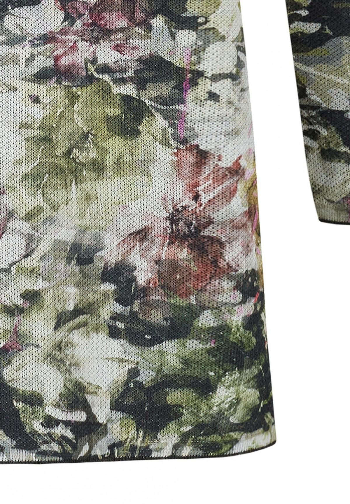 Pullover mit Blumenprint / Pullover mit Blumenprint