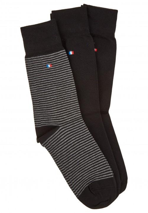 3er Pack Socken, black