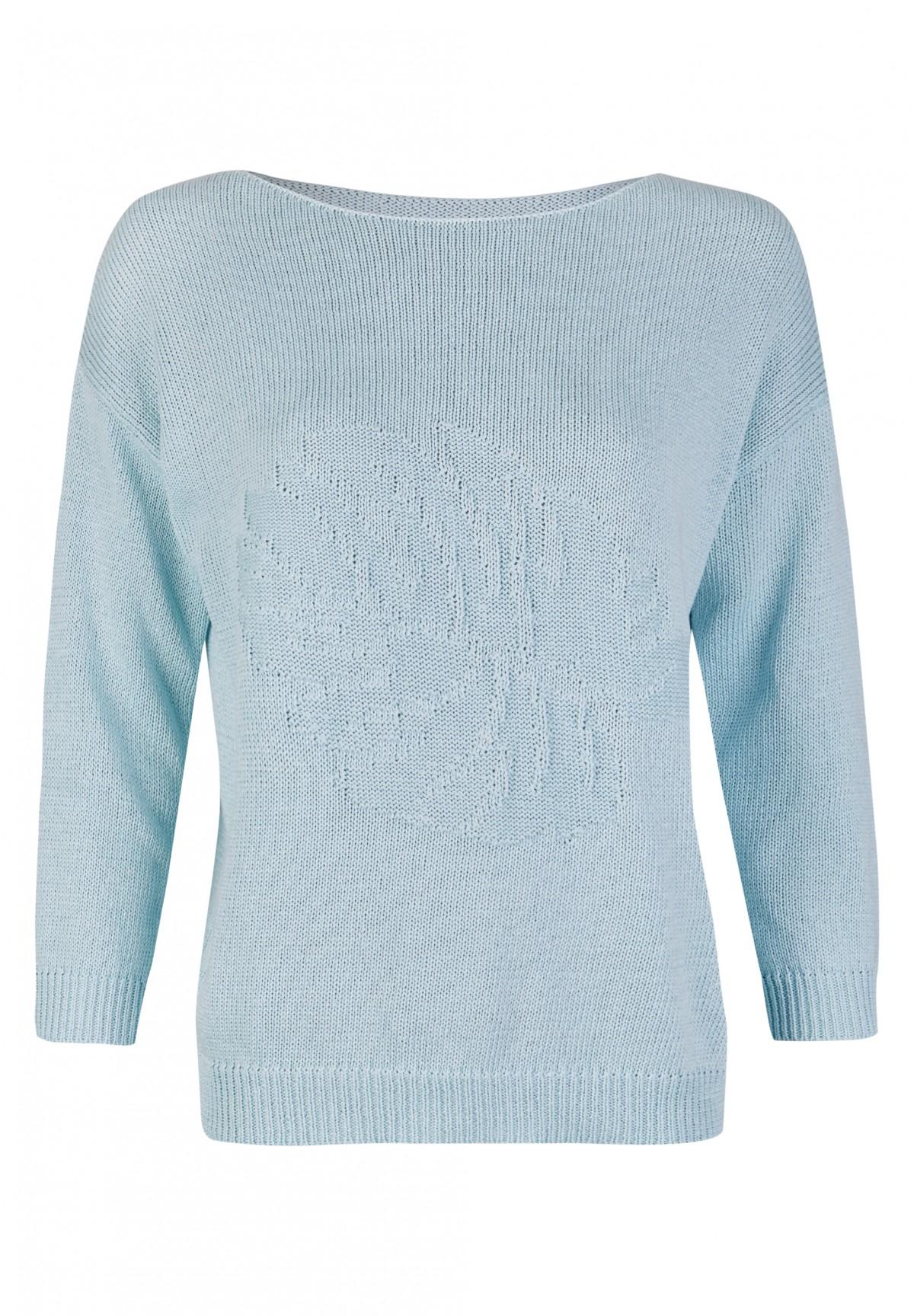 Modischer Pullover mit Intarsie / Jumper