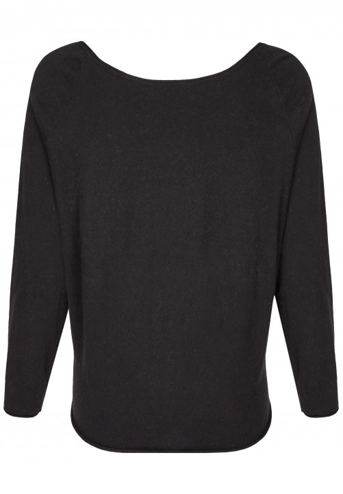 Modischer Pullover, black