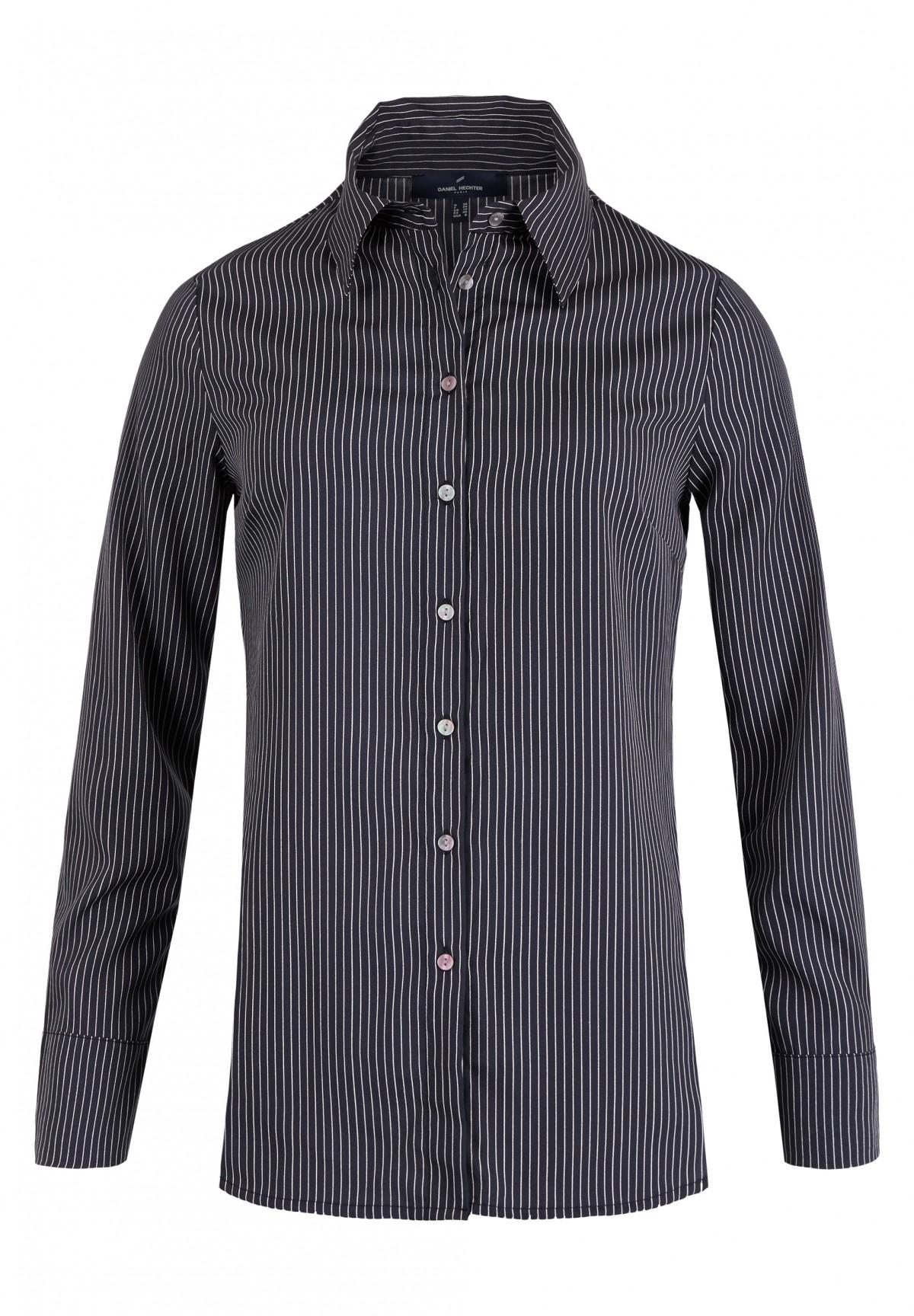 Bluse mit Streifen-Muster / Bluse