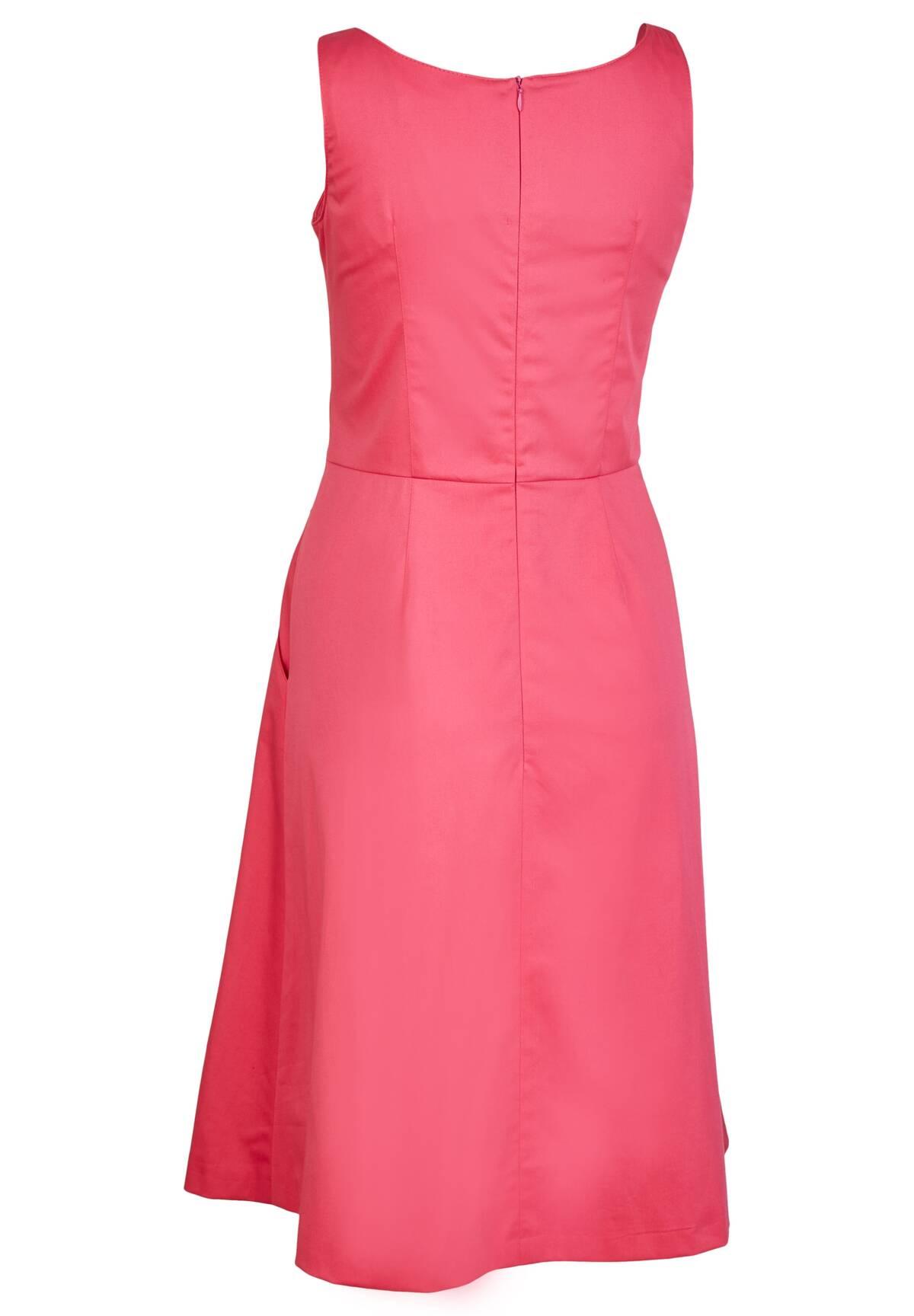 Sommerliches Kleid mit V-Ausschnitt / Dress