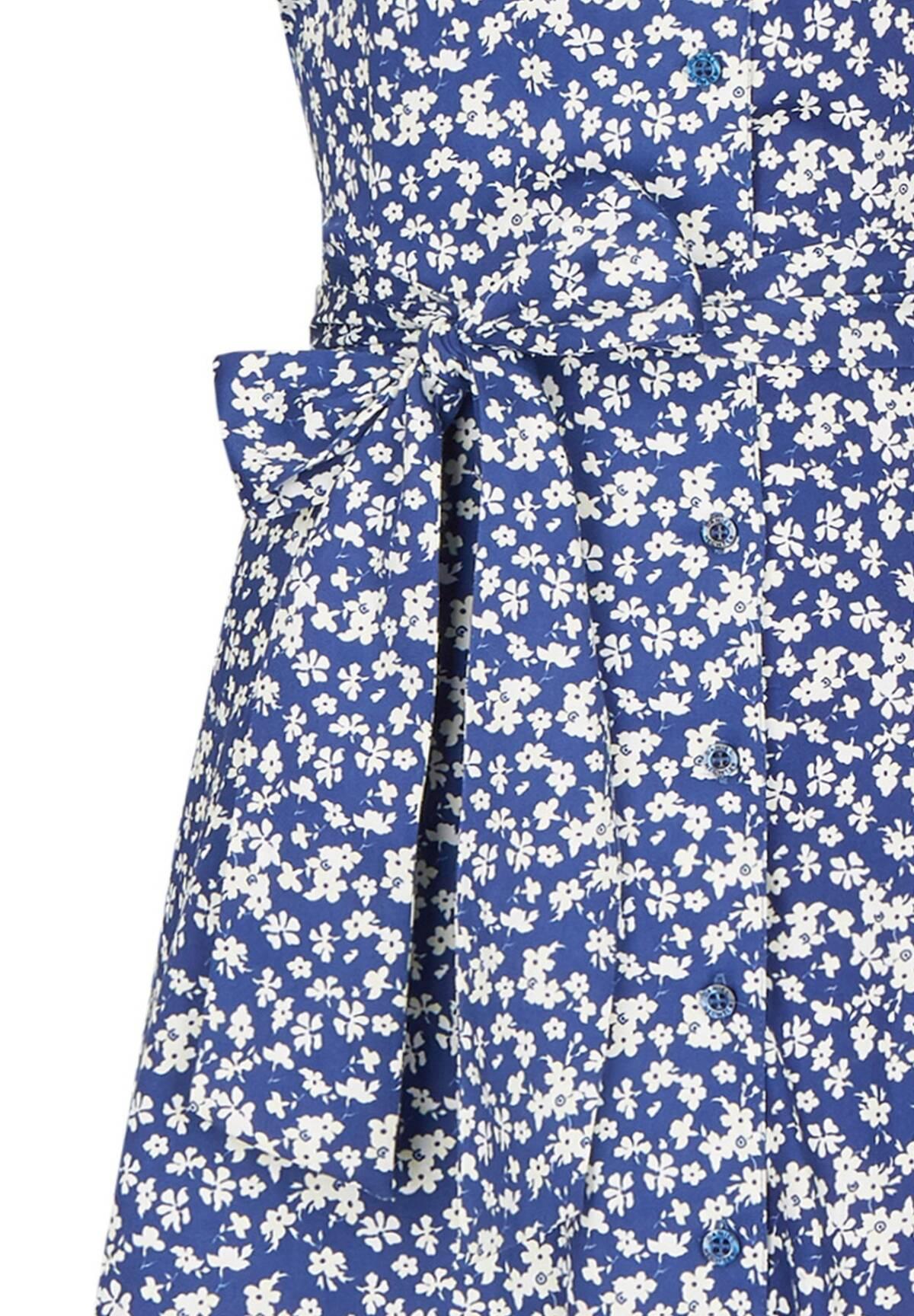Sommerliches Kleid mit frischem Blumenmuster / Dress