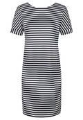 Sommerliches Kleid in Streifenoptik