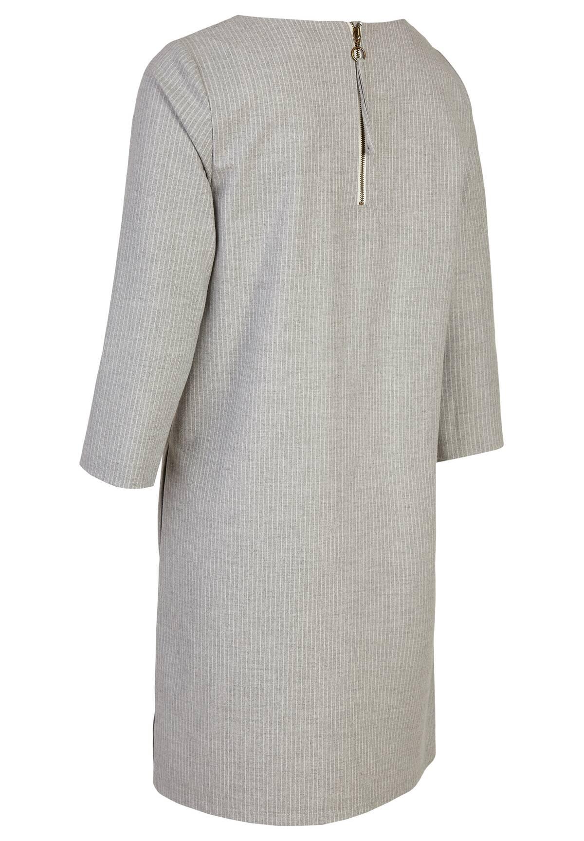 Modernes Kleid mit Rundhalskragen / Dress
