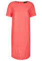 Linen Dress, Coral