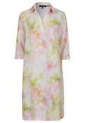 Modernes Leinen-Kleid