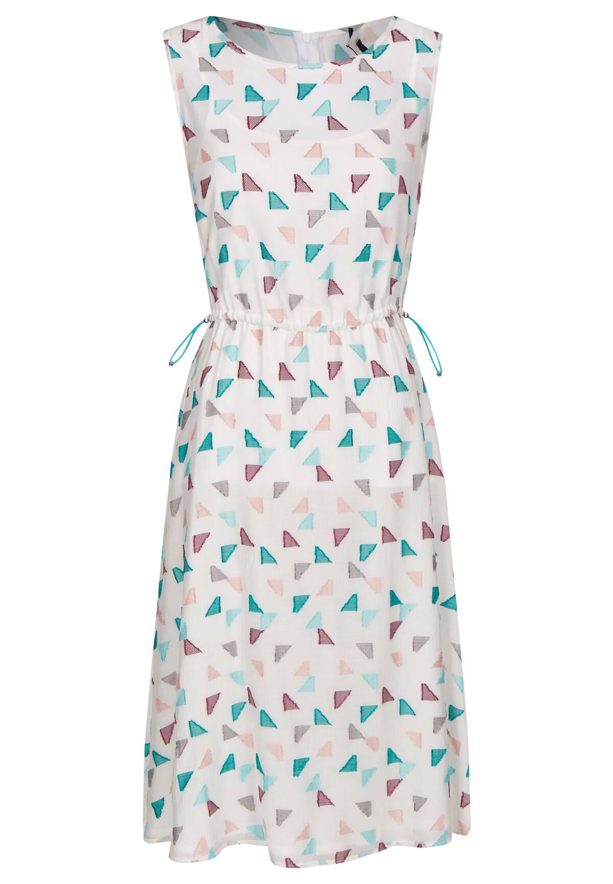 Weitenverstellbares Kleid im grafischen Design / Dress