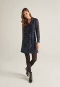 Trendiges Kleid mit Print