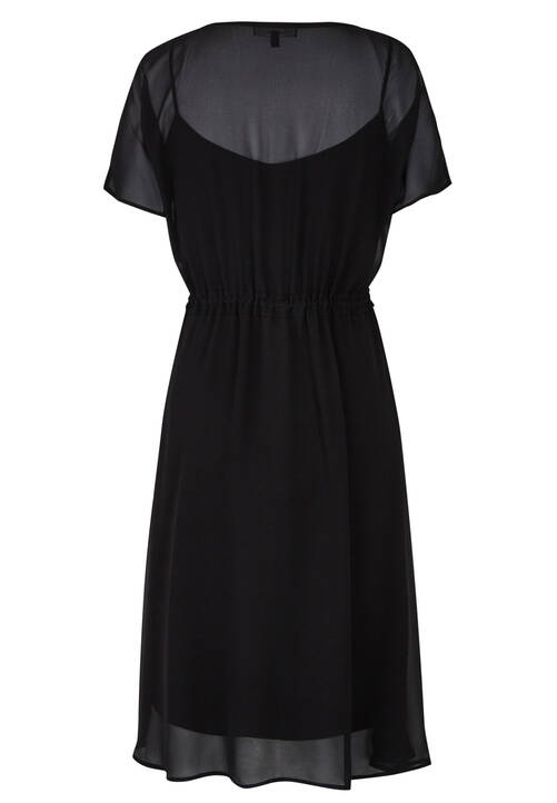 Chiffon Dress, black