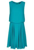 Fließendes Kleid im festlichen Design