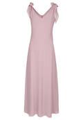 Chiffon-Kleid mit Schleifen-Details
