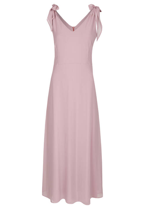Chiffon Dress, Rose