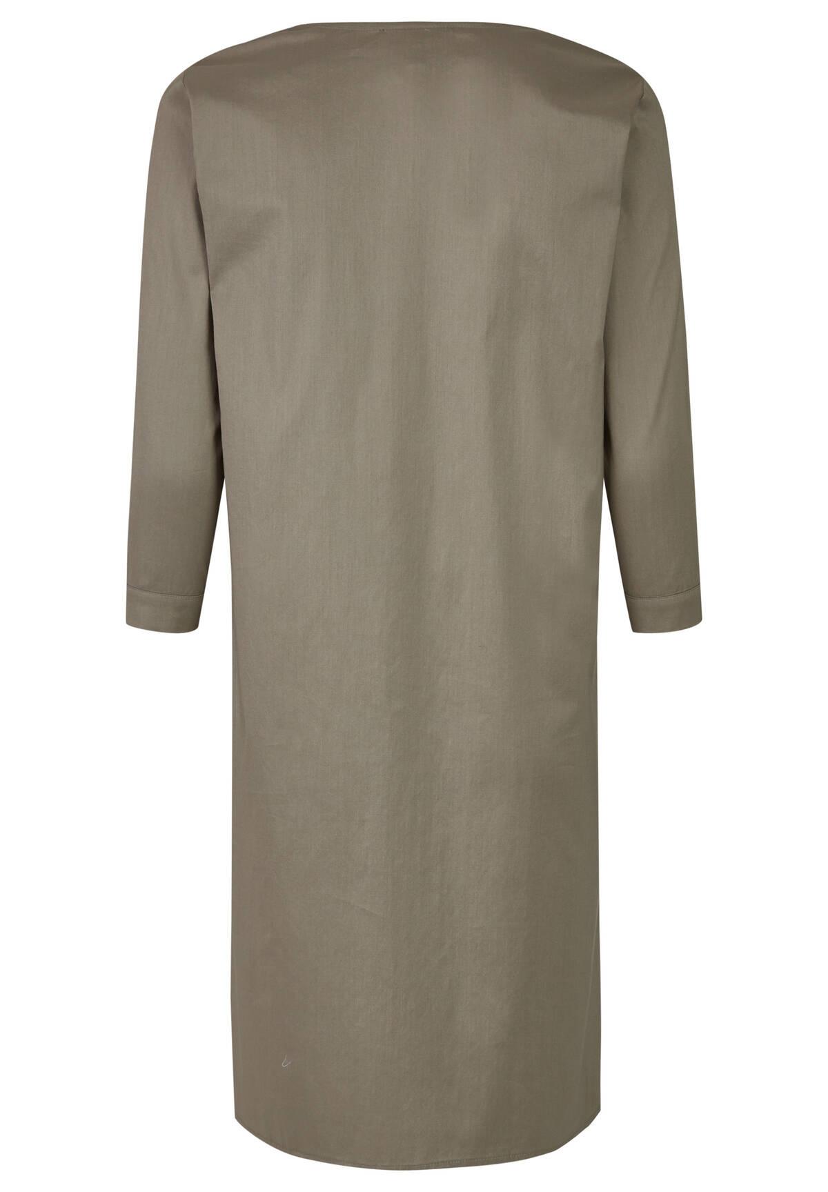 Robe mi-longue unie /