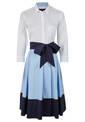 Dress, Sky blue
