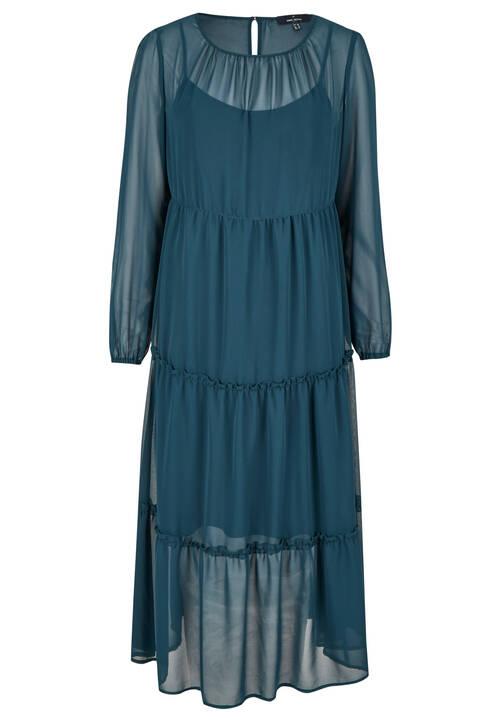 Dress, dark olive