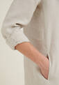 Dress, antique white