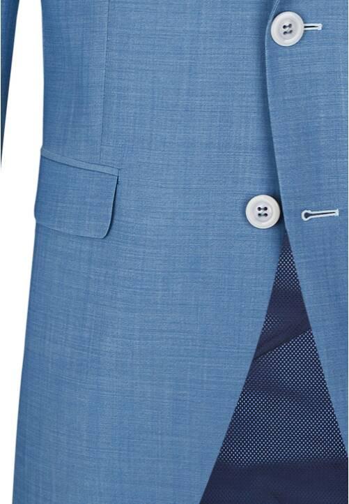JACKET MODERN TRAVEL, light blue