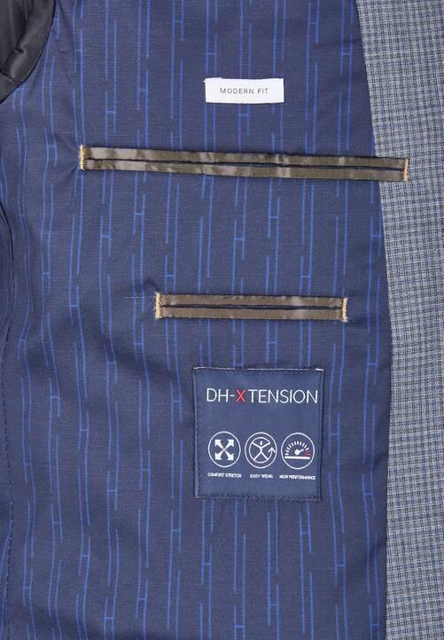 DH-XTENSION Modern Fit Anzug Sakko, darkgrey