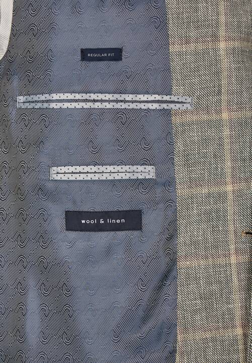 JACKET REGULAR, braun