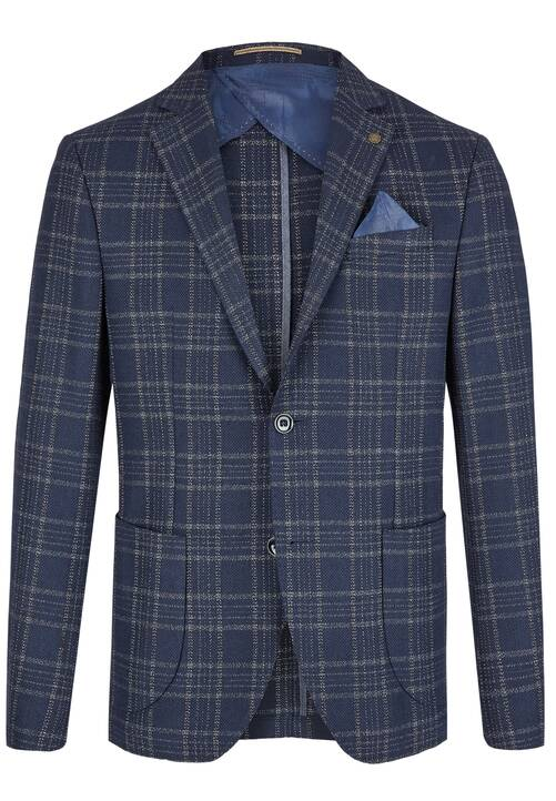 JACKET MOD LEISURE, dark blue