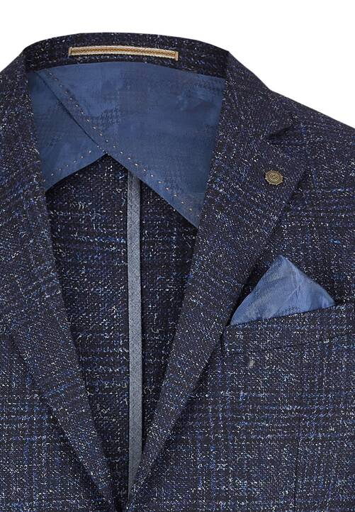 JACKET MOD LEISURE, midnight blue