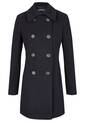 Wool Coat, midnight blue