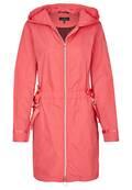 Manteau à capuche cintré