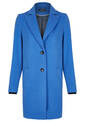 Coat, satin blue
