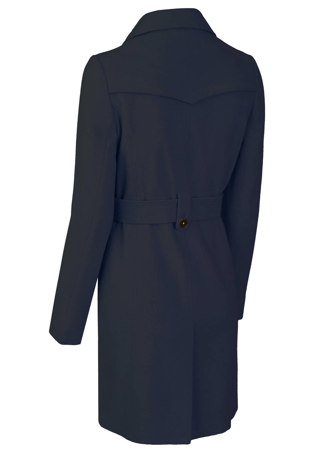 Manteau en laines mélangées /