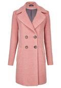 Manteau doublé en maille bouclette