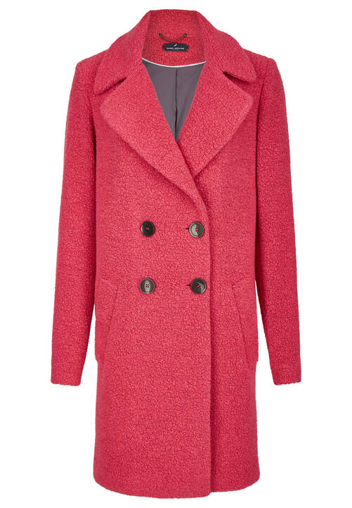 Cozy Coat, fuchsia