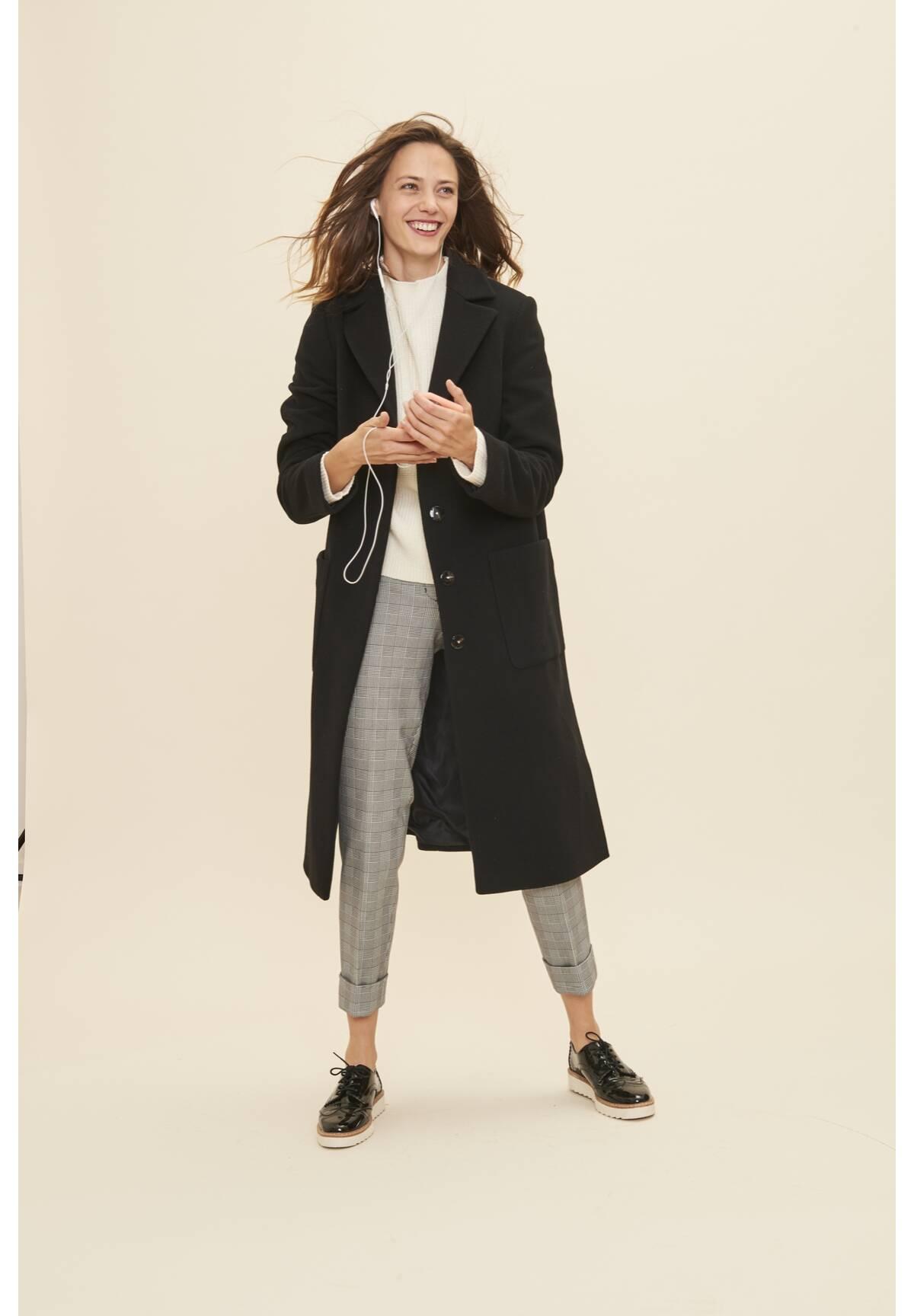 Modischer Mantel / Coat