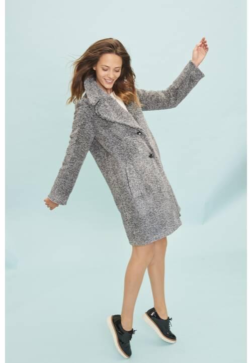 Coat, anthrazit