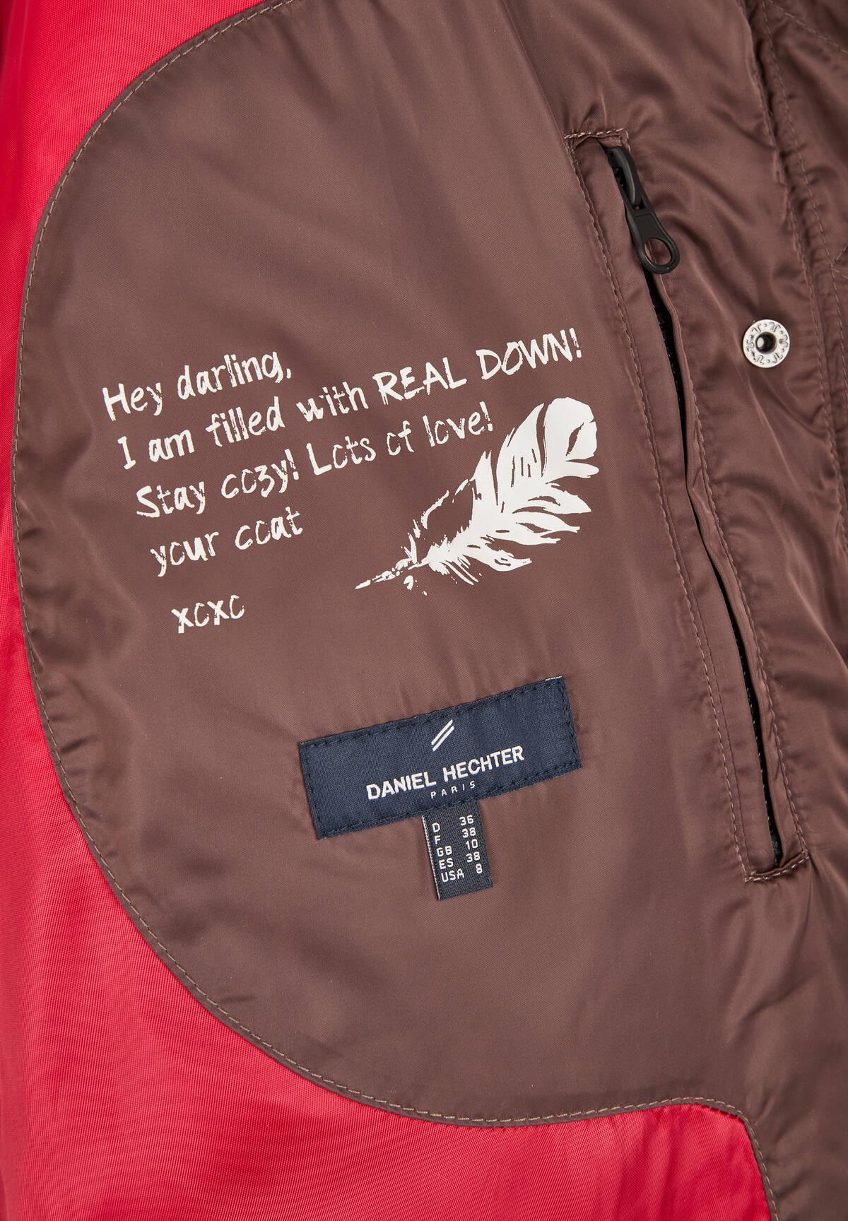 Modische Daunen-Jacke / Down Jacket