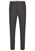 Pantalon droit chiné