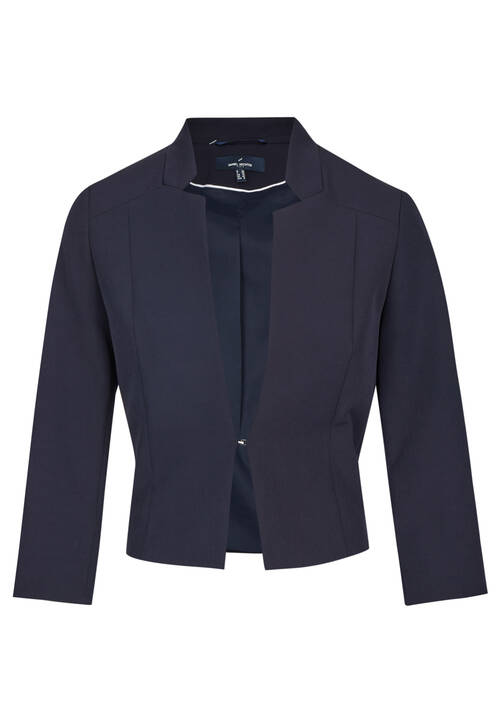 Short Blazer, midnight blue