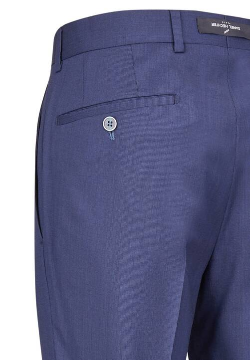 TROUSERS NOS MODERN, dark blue