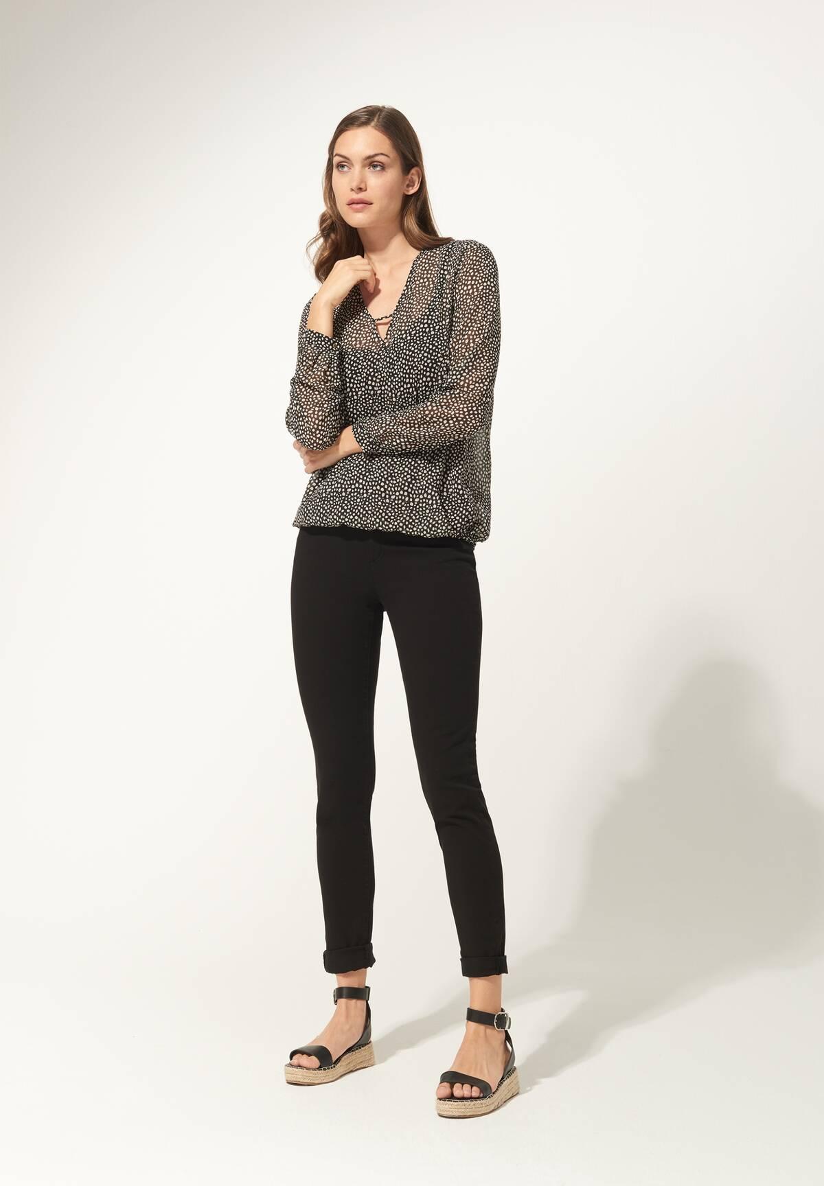 5-Pocket Jeans / Color Denim
