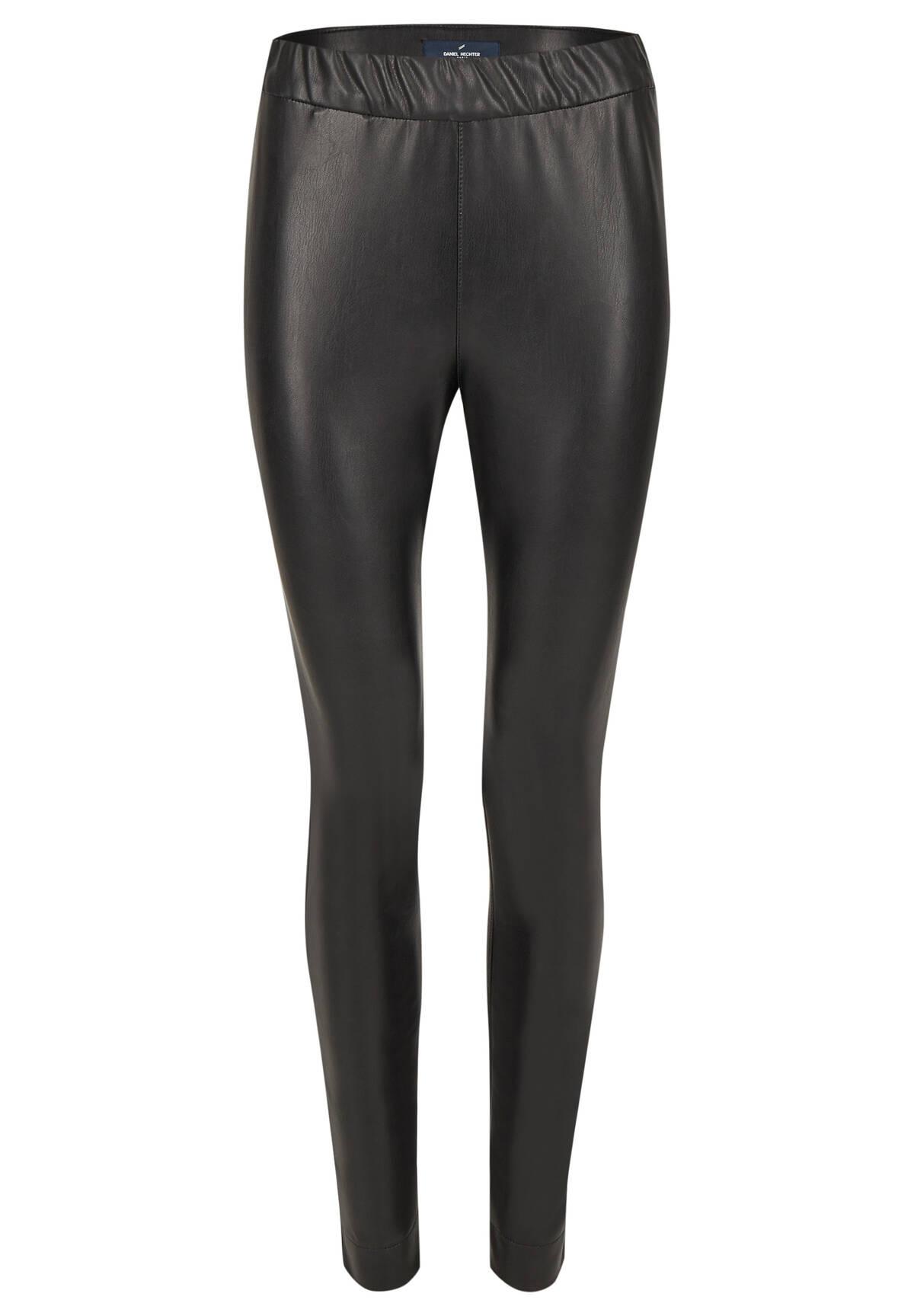 Modische Lederleggins / Fake Leather Pants