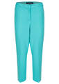 Kickflaired Trousers, Jade Green