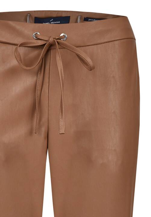 Trousers, hazelnut
