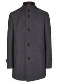 Manteau en laine Donegal